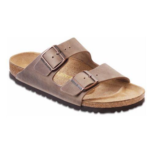 Birkenstock Arizona Sandals Shoe - Tobacco Oiled Leather 39