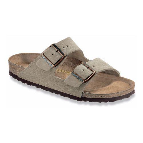 Birkenstock Arizona Sandals Shoe - Taupe Suede 43