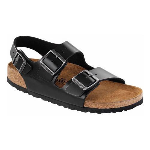 Birkenstock Milano Soft Footbed Sandals Shoe - Black 36