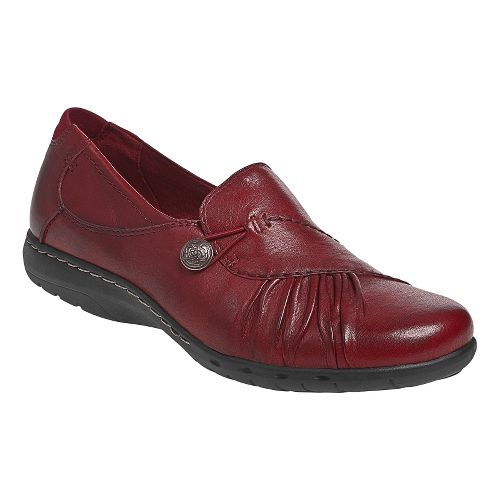 Womens Cobb Hill Paulette Casual Shoe - Red 7.5