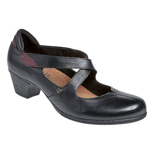 Womens Cobb Hill Avery Casual Shoe - Black 7