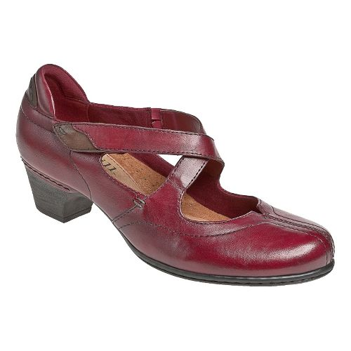 Womens Cobb Hill Avery Casual Shoe - Red 6