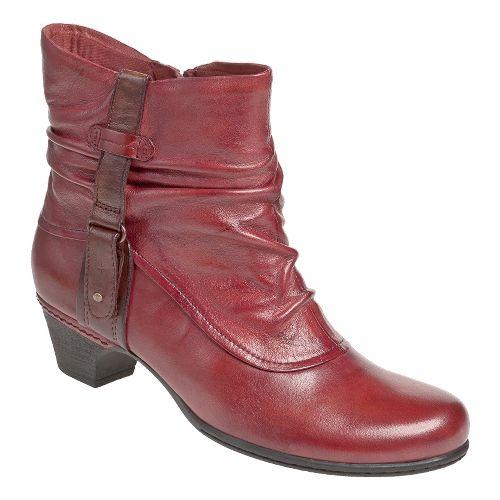 Womens Cobb Hill Alexandra Casual Shoe - Red 6