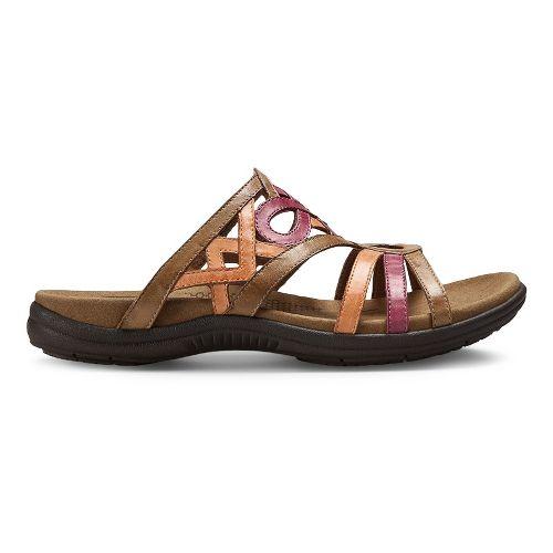 Womens Cobb Hill REVswift Sandals Shoe - Tan/Multi 6