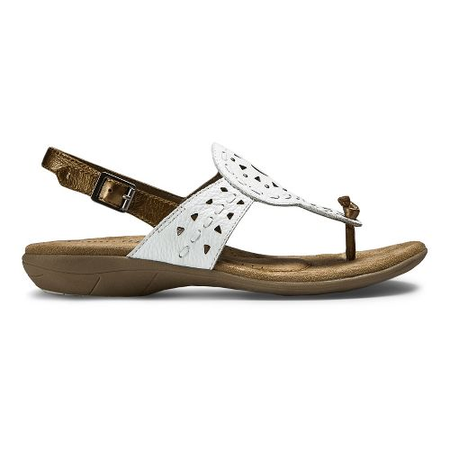 Womens Cobb Hill Willa-CH Sandals Shoe - White 6.5