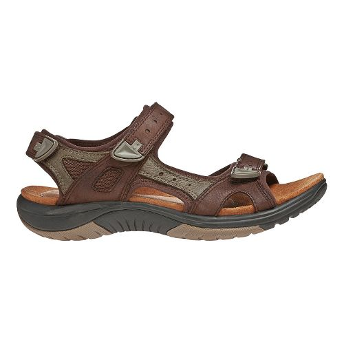 Womens Cobb Hill Fiona Sandals Shoe - Brown/Green 5