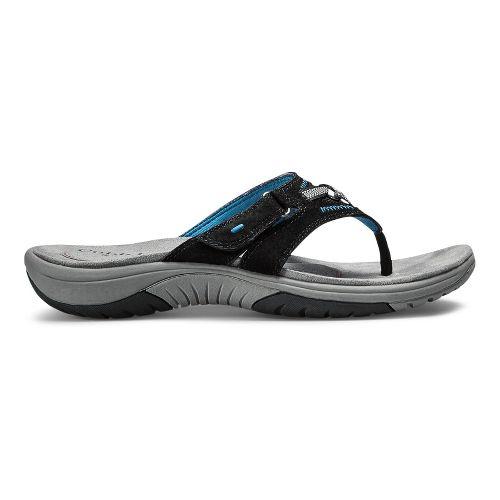 Womens Cobb Hill Fawn-CH Sandals Shoe - Black 6
