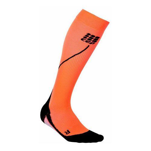 CEP Progressive+ Run Compression Socks 2.0 Injury Recovery - Orange XL