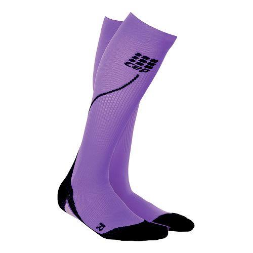 Womens CEP Progressive+ Run Compression Socks 2.0 Injury Recovery - Purple M