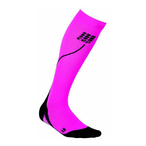 Womens CEP Progressive+ Run Compression Socks 2.0 Injury Recovery - Pink M