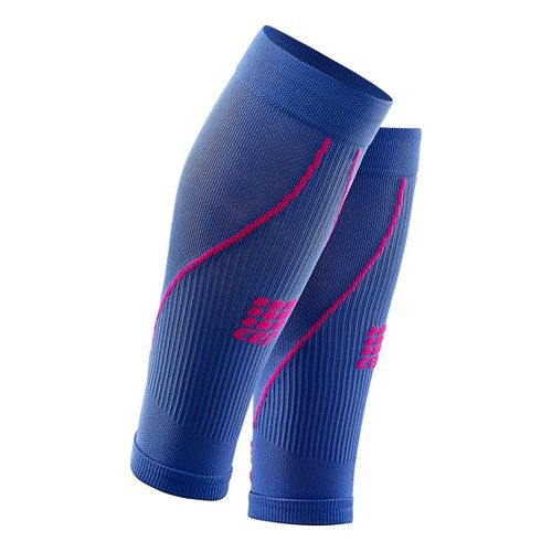 Womens CEP Progressive+ Compression Calf Sleeves 2.0 Injury Recovery - Purple Blue/Pink S