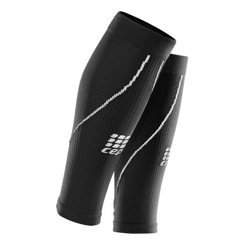 Womens CEP Progressive+ Compression Calf Sleeves 2.0 Injury Recovery - Black M