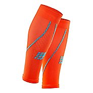 Mens CEP Progressive+ Compression Calf Sleeves 2.0 Injury Recovery - Sunset/Hawaii Blue L