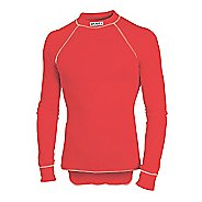 Mens Craft Active Crewneck Long Sleeve Technical Top - Red S