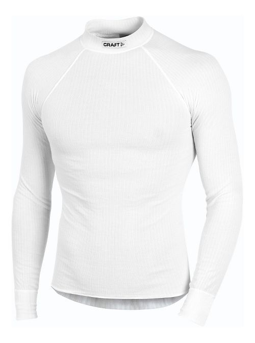 Mens Craft Active Crewneck Long Sleeve Technical Top - White S