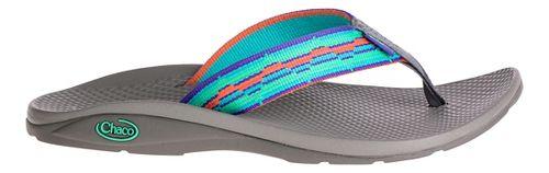 Womens Chaco Flip EcoTread Sandals Shoe - Mint Liberty 5