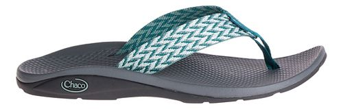 Womens Chaco Flip EcoTread Sandals Shoe - Trellis Teal 6