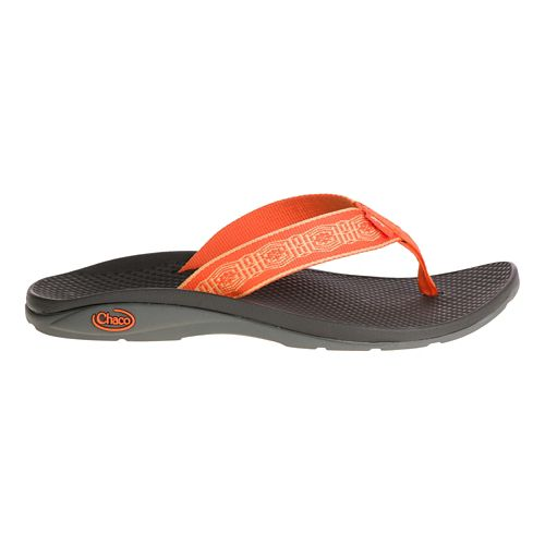 Womens Chaco Flip EcoTread Sandals Shoe - Shell Done 5