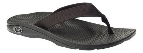 Womens Chaco Flip EcoTread Sandals Shoe - Black 8