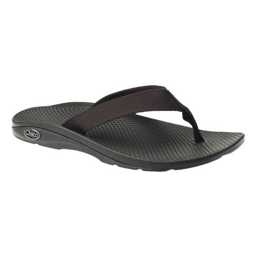 Womens Chaco Flip EcoTread Sandals Shoe - Black 5