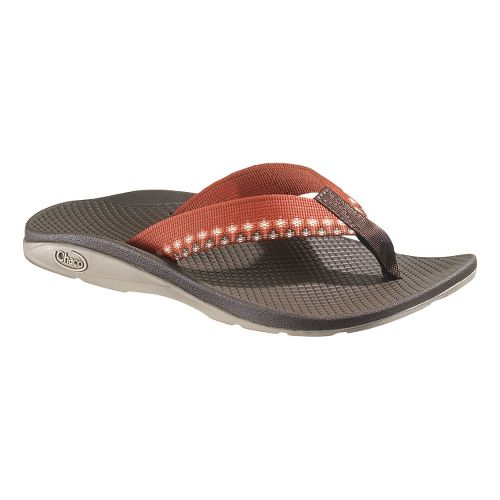 Womens Chaco Flip EcoTread Sandals Shoe - Campfire 10