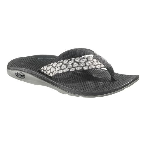 Womens Chaco Flip EcoTread Sandals Shoe - Stones Black 10