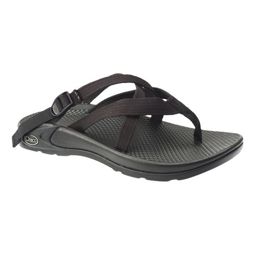 Womens Chaco Hipthong Two Ecotread Sandals Shoe - Black 6