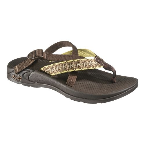 Womens Chaco Hipthong Two Ecotread Sandals Shoe - Grasshopper 8