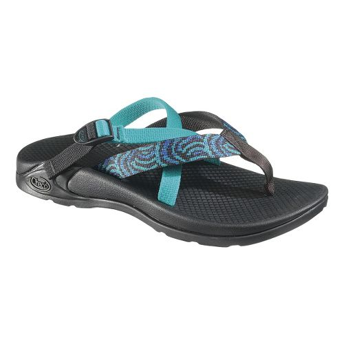 Womens Chaco Hipthong Two Ecotread Sandals Shoe - Swirls 6