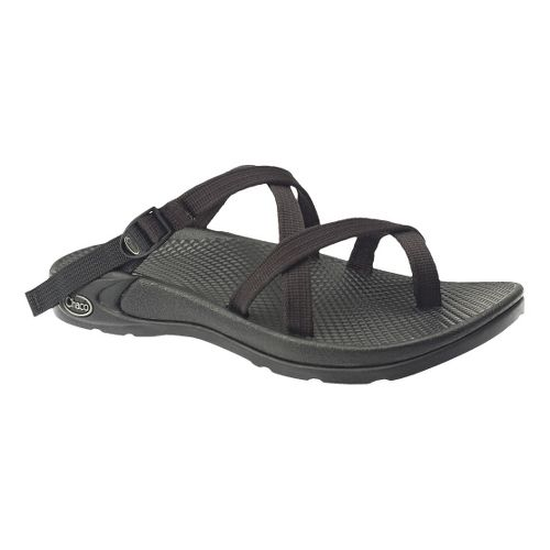 Womens Chaco Zong EcoTread Sandals Shoe - Black 5