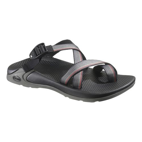 Mens Chaco Zong EcoTread Sandals Shoe - Red Line 10