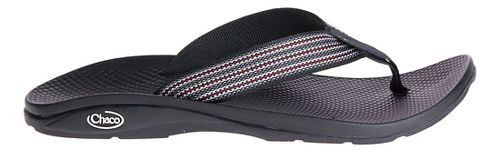 Mens Chaco Flip EcoTread Sandals Shoe - Thread Black 7