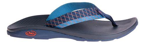 Mens Chaco Flip EcoTread Sandals Shoe - Glide Blue 7