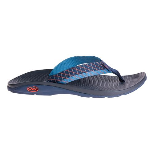 Mens Chaco Flip EcoTread Sandals Shoe - Glide Blue 7