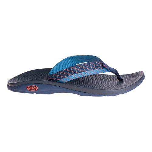 Mens Chaco Flip EcoTread Sandals Shoe - Links Orange 7