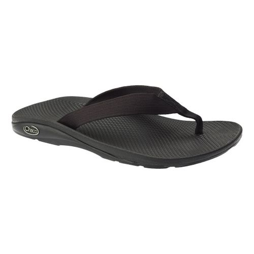 Mens Chaco Flip EcoTread Sandals Shoe - Black 12