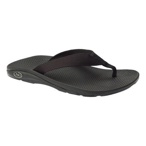 Mens Chaco Flip EcoTread Sandals Shoe - Black 8