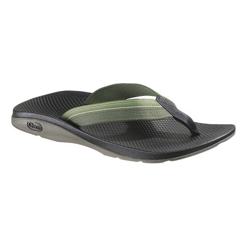 Mens Chaco Flip EcoTread Sandals Shoe - Bay Leaf 11