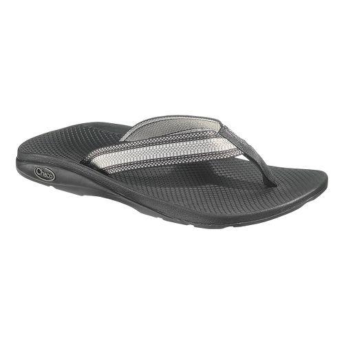 Mens Chaco Flip EcoTread Sandals Shoe - Iron 12