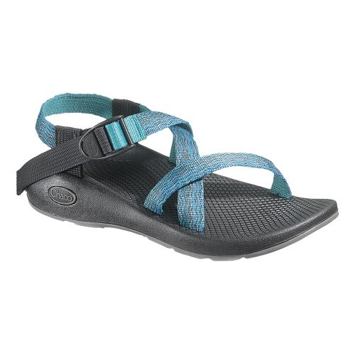 Womens Chaco Z1 Yampa Sandals Shoe - Waves 6