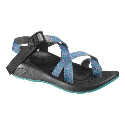 Womens Chaco Z2 Yampa Sandals Shoe - Crystals 8