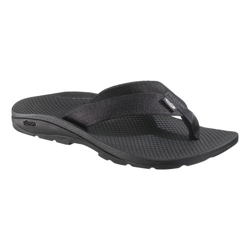 Womens Chaco Flip Vibe Sandals Shoe - Black 12