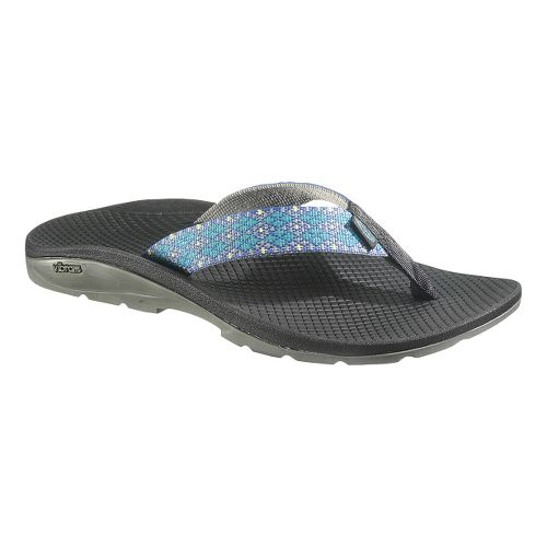 Womens Chaco Flip Vibe Sandals Shoe - Crystals 5