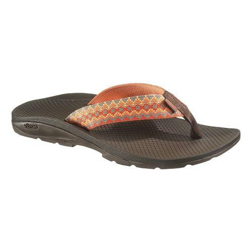 Womens Chaco Flip Vibe Sandals Shoe - Mountain Range 8