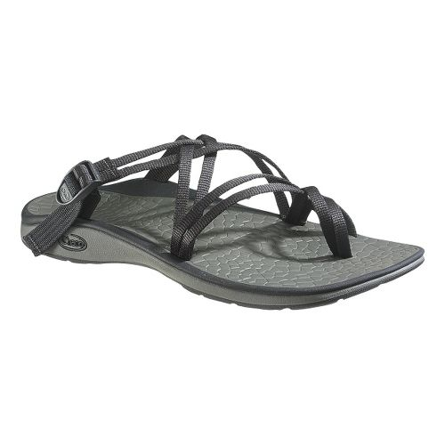 Womens Chaco Sleet Sandals Shoe - Black 7