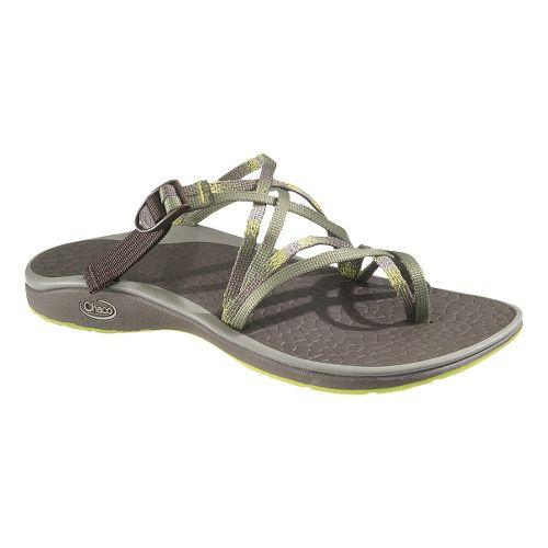 Womens Chaco Sleet Sandals Shoe - Summer Sunset 11