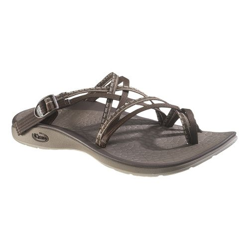 Womens Chaco Sleet Sandals Shoe - Stitch Brown 6