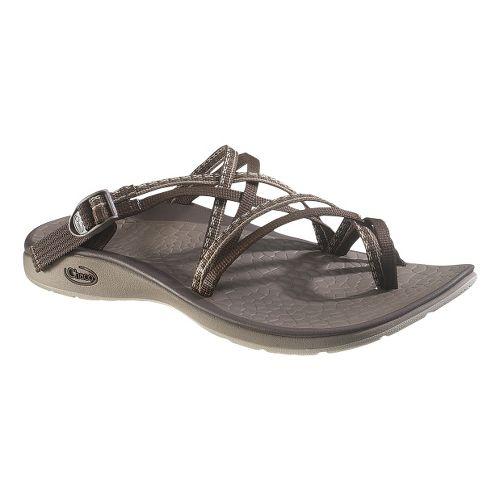 Womens Chaco Sleet Sandals Shoe - Stitch Brown 7