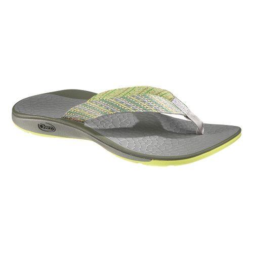 Womens Chaco Fathom Sandals Shoe - Diagonal 10