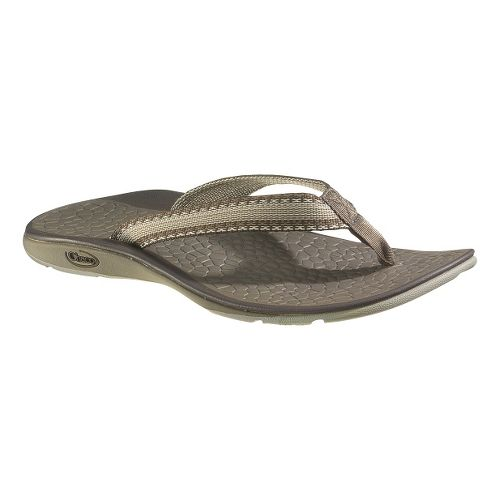 Womens Chaco Fathom Sandals Shoe - Stitch Brown 5